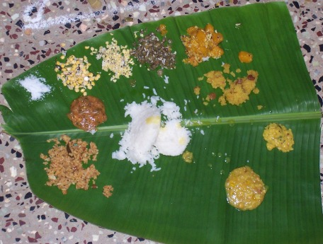 Typical Madhwa Lunch