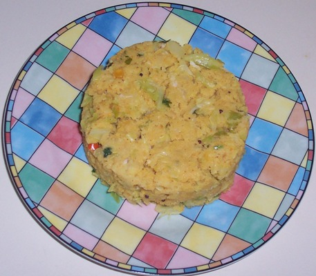 Cabbage Uppittu or Upma