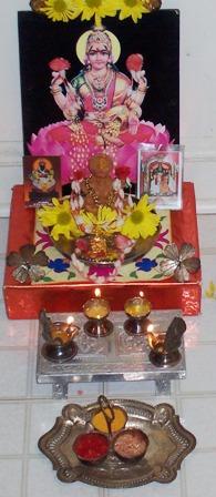 Shri Lakshmi Pooje