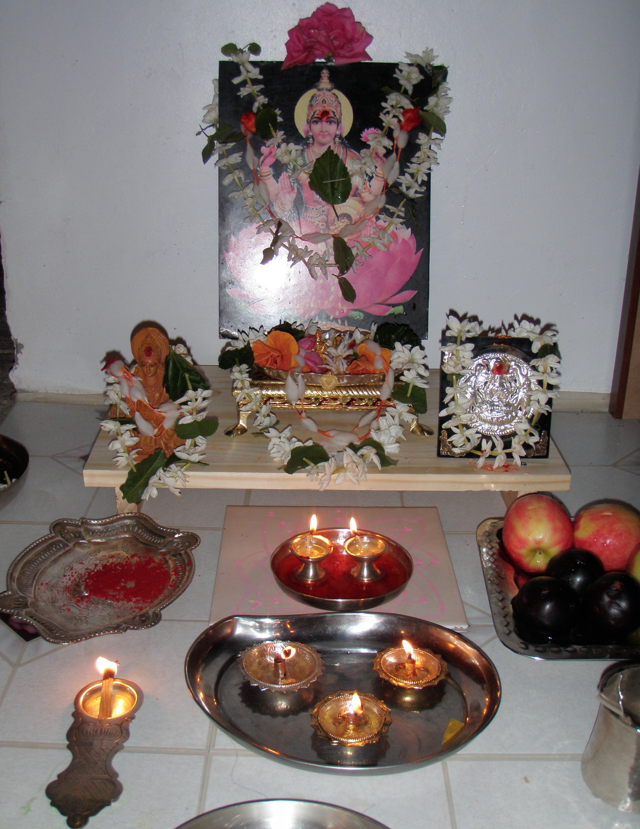 Shravana Masa Lakshmi Pooja Vidhana – August 21st, 28th