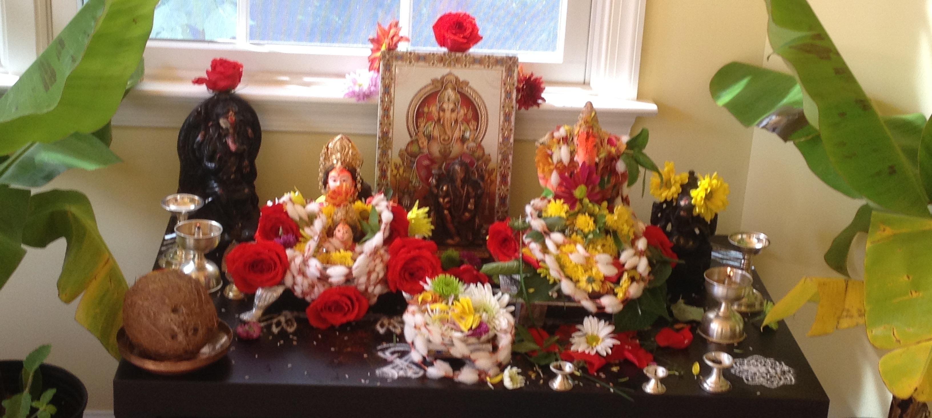 Lord Ganesha   Kalpavriksha Kamadhenu