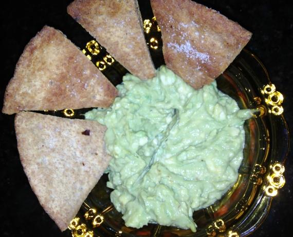 guacamole-pita-chips
