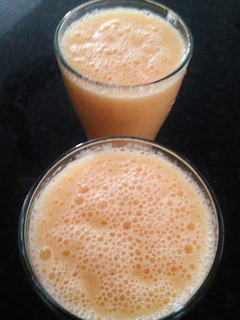 cataloupe-pineapple-juice