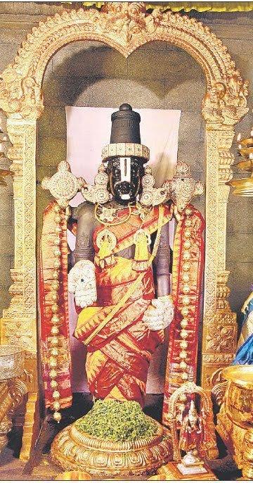 Nethra darshnam with Tulasi